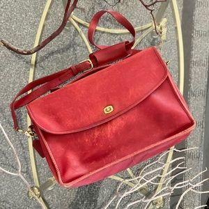 Vintage Coach Lexington Leather Legal Briefcase